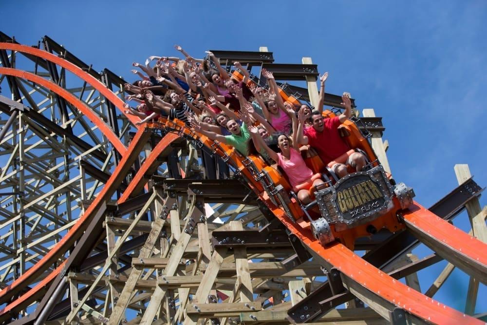 Atrações do parque Six Flags Great America