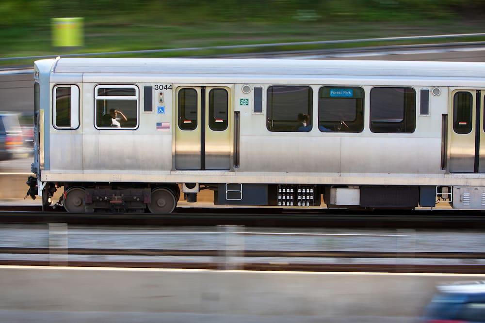 Transporte público em Chicago