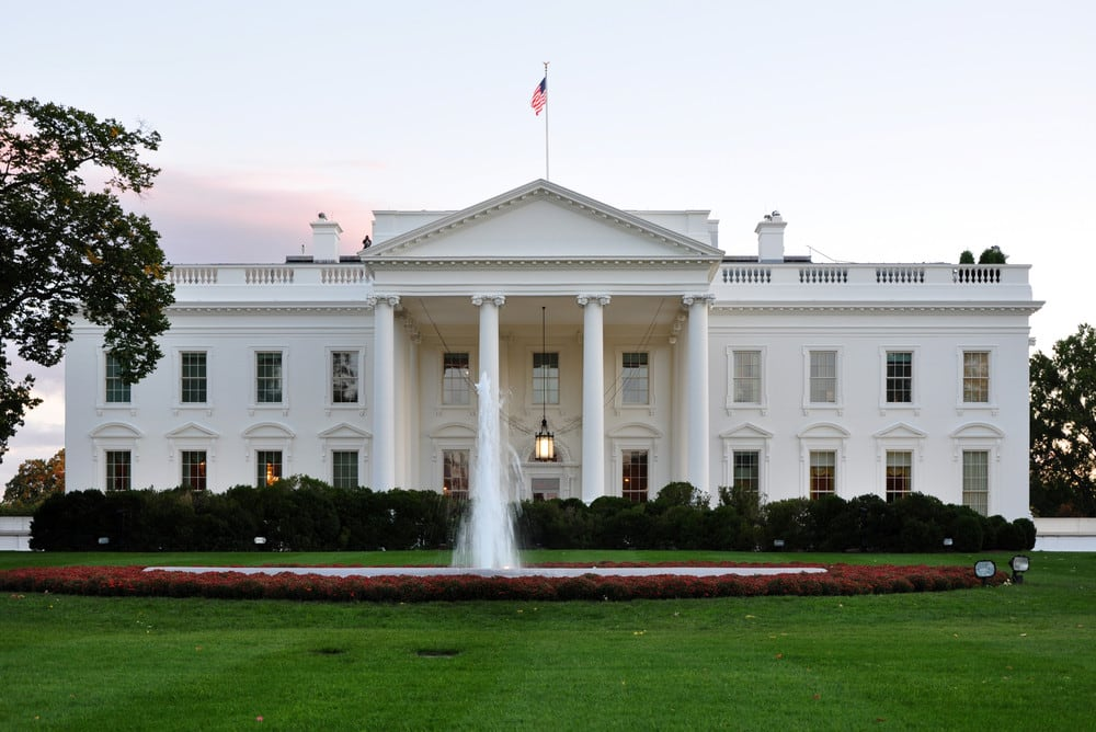 Ir à Casa Branca em Washington