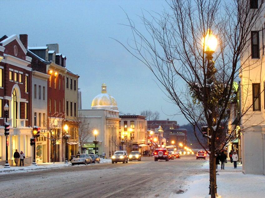 Passeio por Georgetown em Washington