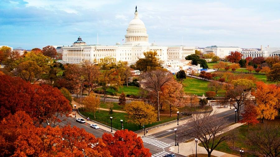 Outono em Washington
