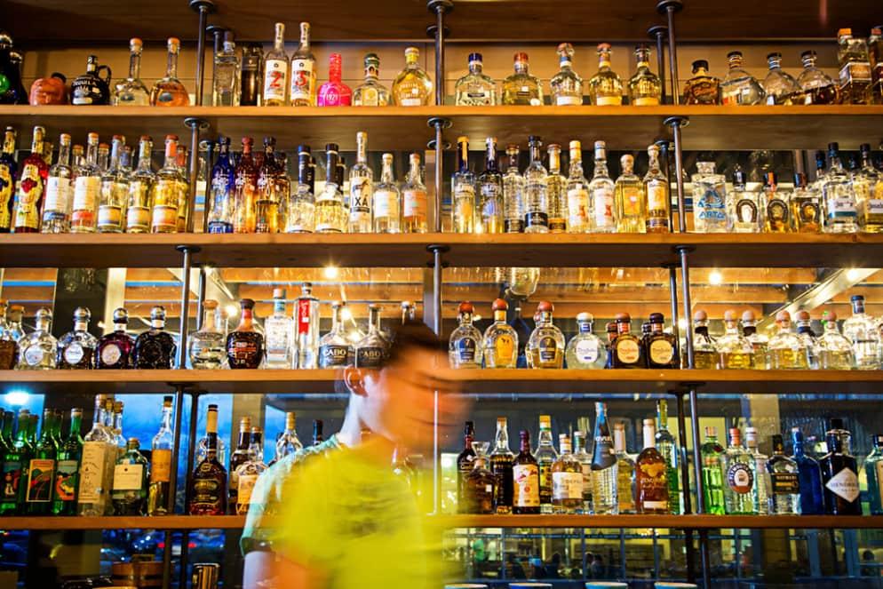 Passar a noite nos bares em Washington'