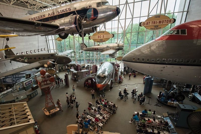 National Air and Space Museum em Washington