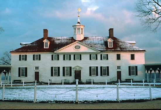 Visitar Mount Vernon no natal em Washinton