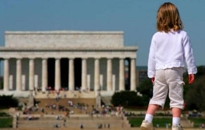 O que fazer com crianças em Washington