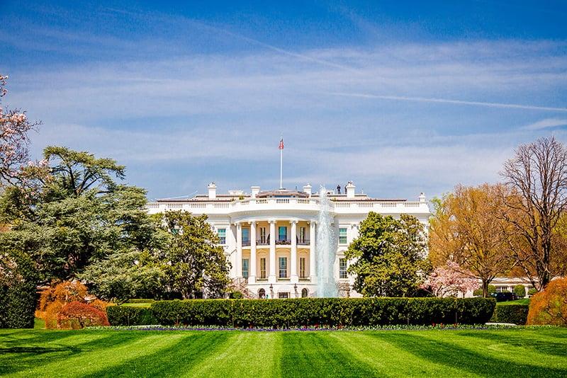 Pontos turísticos em Washington