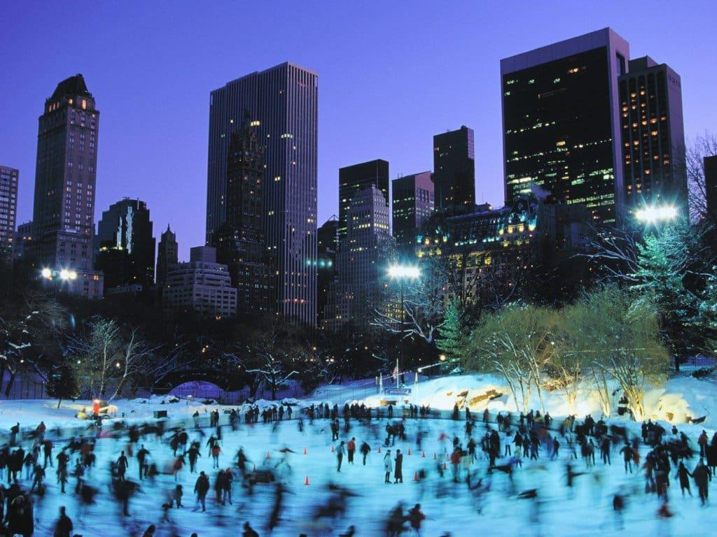 Ano novo no Central Park