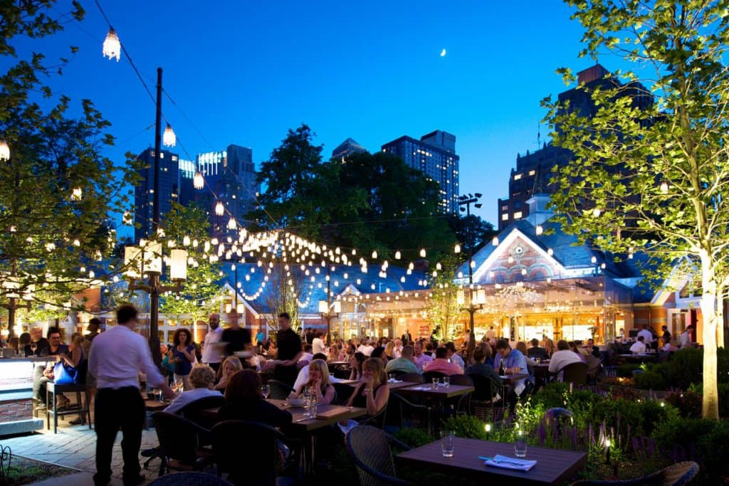 Restaurante Tavern on the Green no Central Park