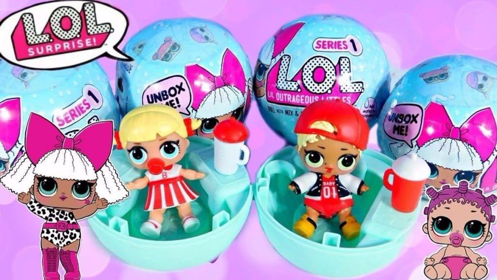 Como são as bonecas L.O.L Surprise em Nova York