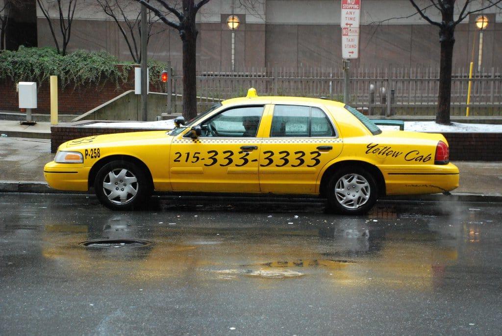 Ir de táxi do aeroporto da Filadélfia até o centro