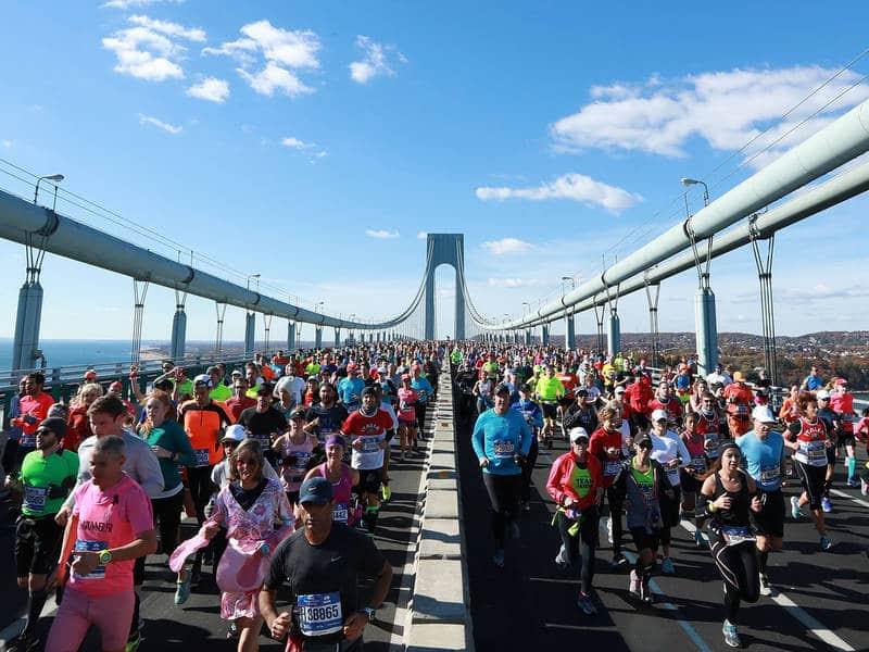 Inscrição para turistas na Maratona de Nova York