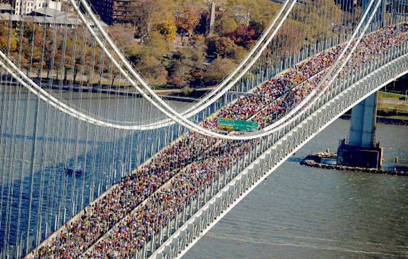 Tradições na Maratona de Nova York