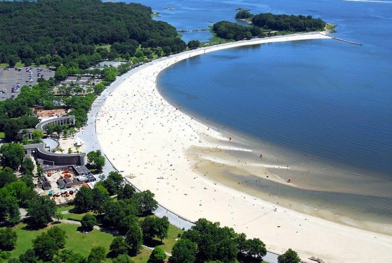 Praia Orchard Beach