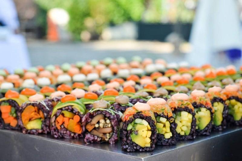 Restaurante vegano Beyond Sushi