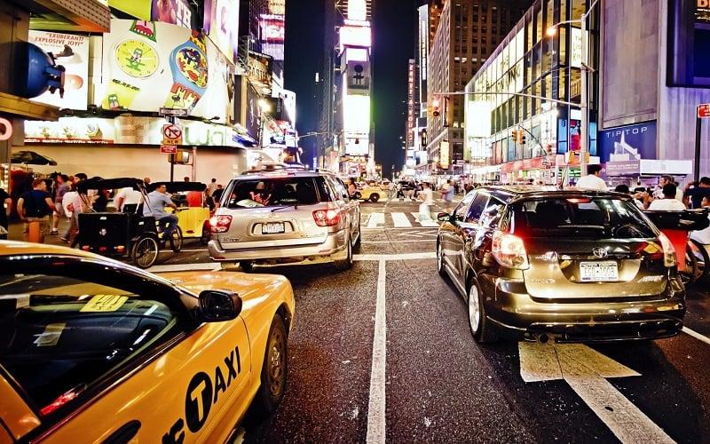 Planejar o aluguel de carro em Nova York