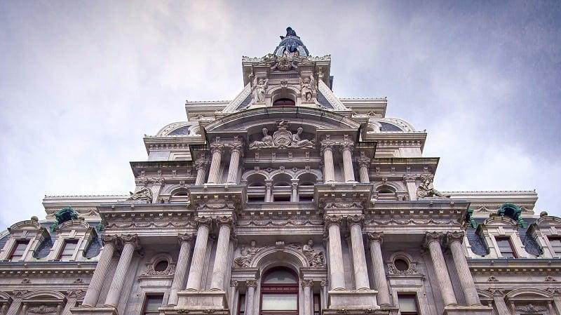 Diferença de fuso horário na Filadélfia