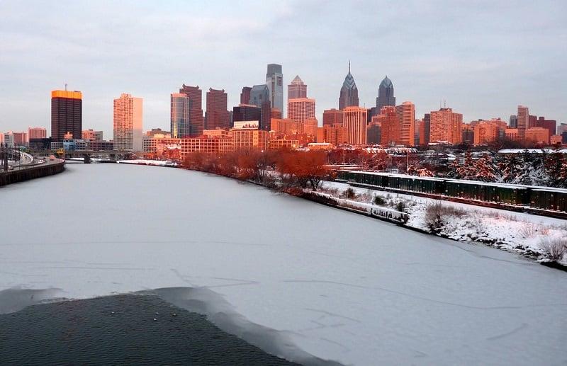 Inverno na Filadélfia