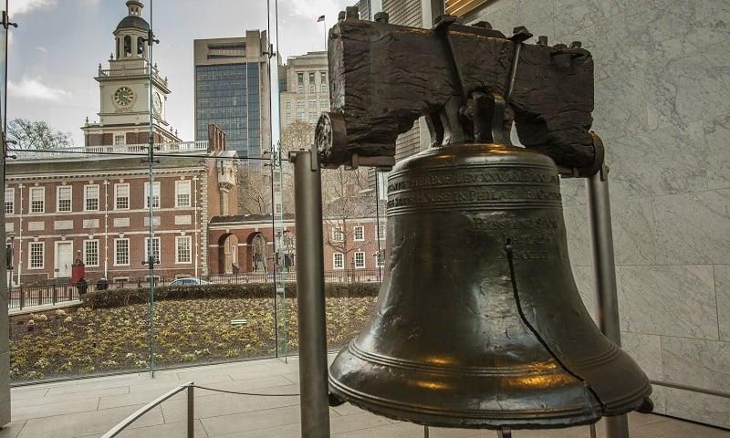 Liberty Bell na Filadélfia