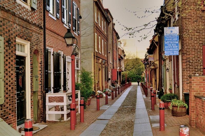 Passeio por Old City na Filadélfia