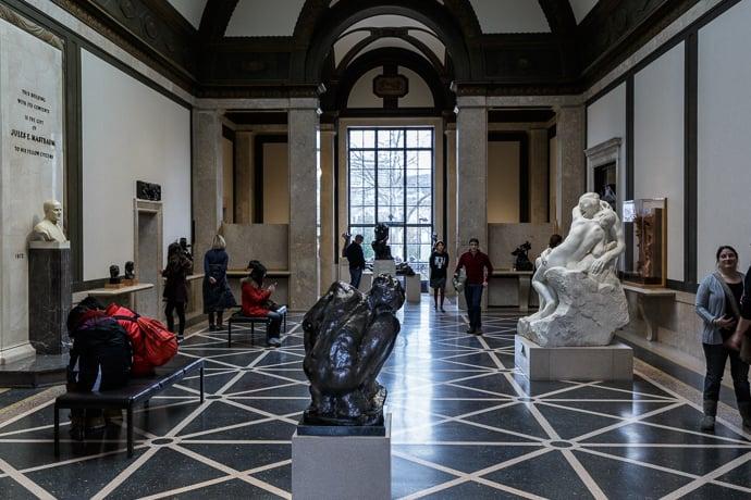 Museu Rodin na Filadélfia