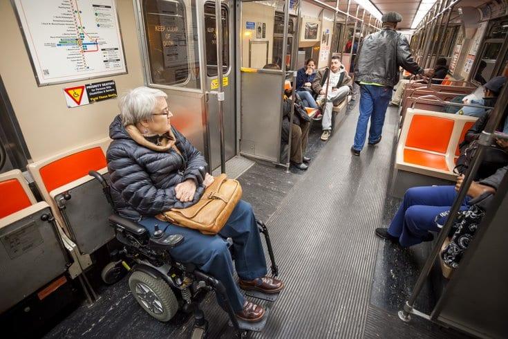 Transporte para deficientes na Filadélfia