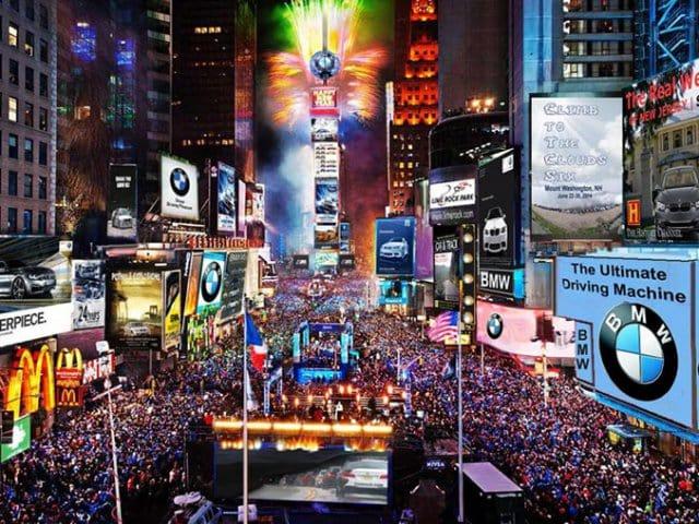 O que fazer no ano novo em Nova York em 2018