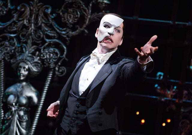 Musical Phantom of the Opera na Broadway