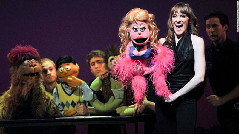 Musical Avenue Q da Broadway em Nova York