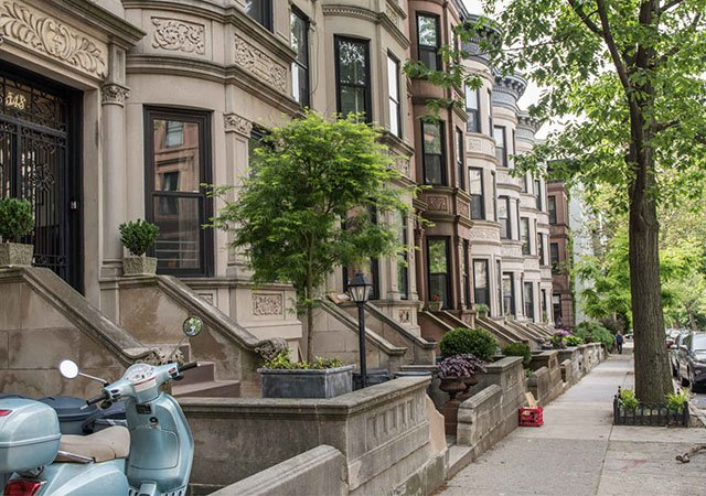 Park Slope no Brooklyn em Nova York
