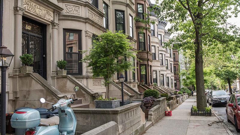 Park Slope no Brooklyn em Nova York