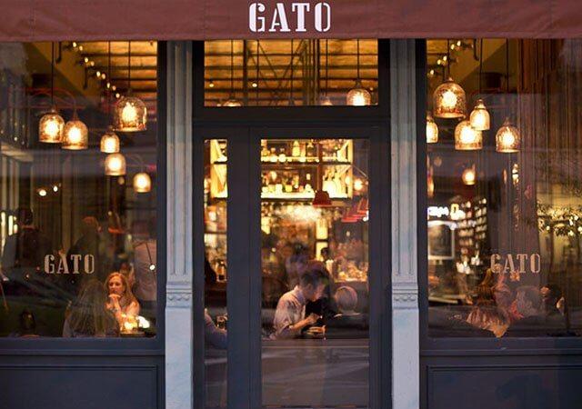 Restaurante GATO em Nova York