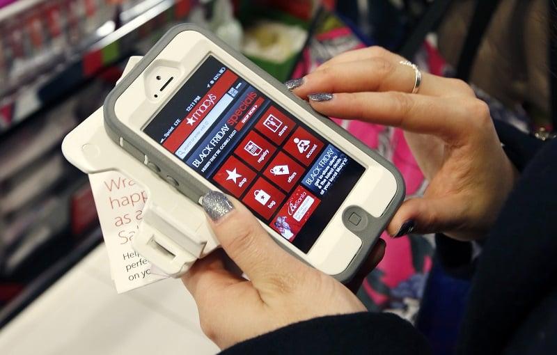 Usar o celular em Boston