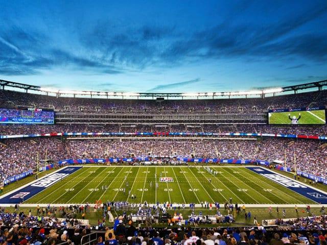 Assistir a um jogo da NFL em Nova York