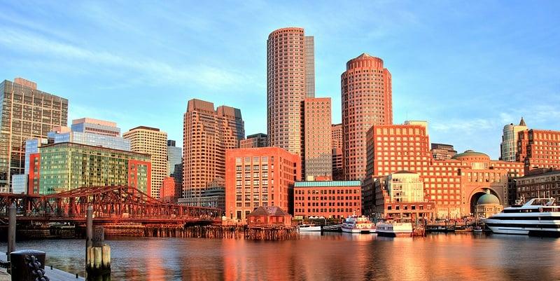 Downtown em Boston