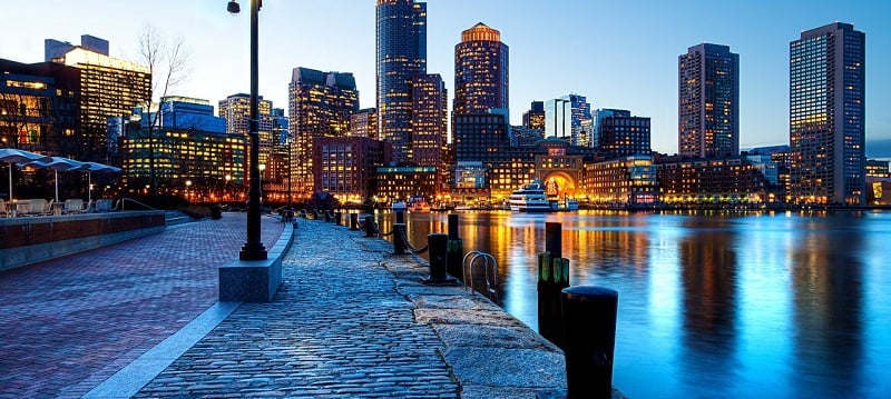 Waterfront em Boston