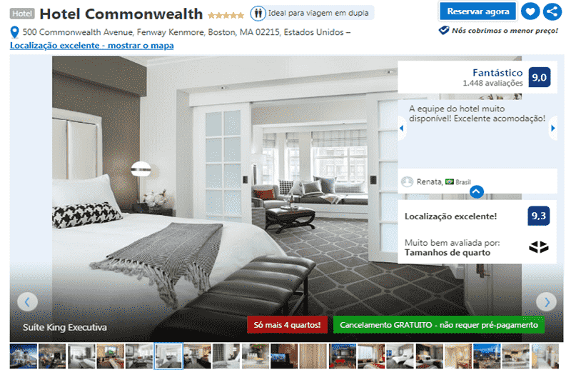 Hotel Commonwealth em Boston