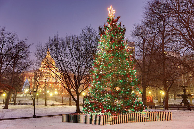 Natal em Boston