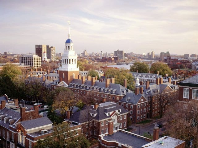 Visita a Universidade de Harvard