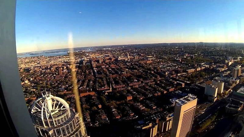 Skywalk observatory em Boston