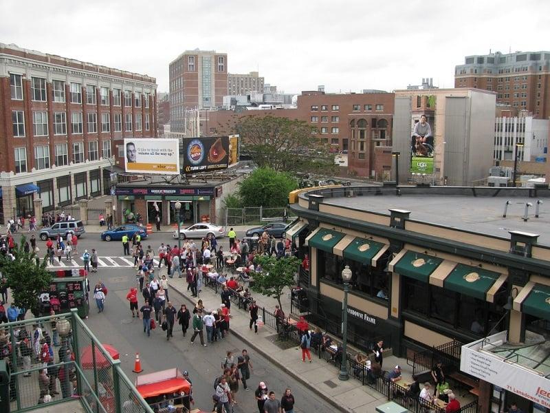 Visite Lansdowne Street em Boston