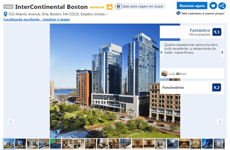 Hotel InterContinental em Boston