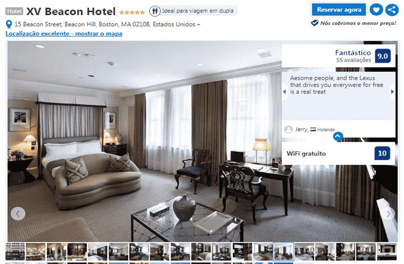 Hotel XV Beacon em Boston