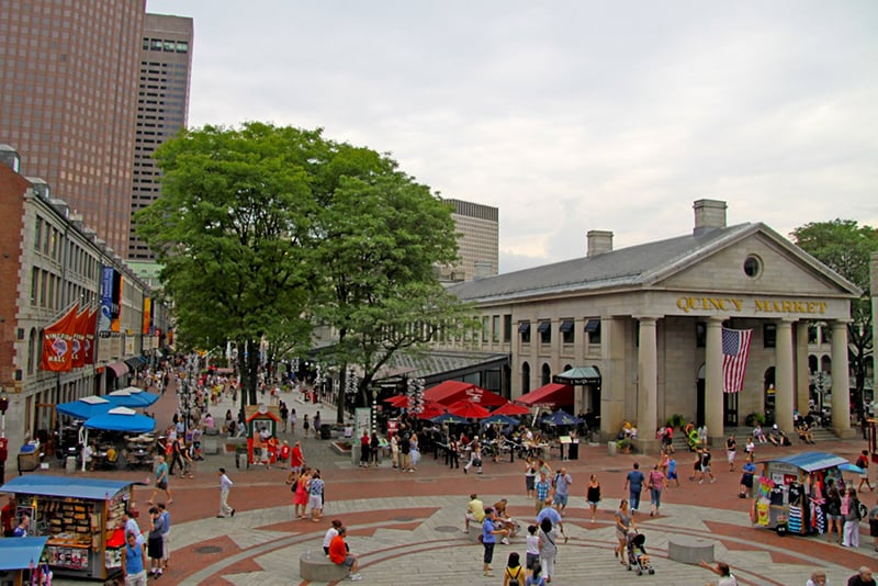 Faneuil Hall Marketplace em Boston
