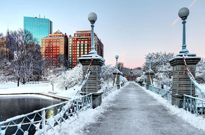 O que fazer no inverno em Boston