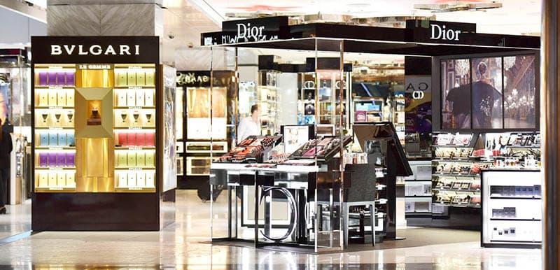 Lojas no Free Shop em Boston