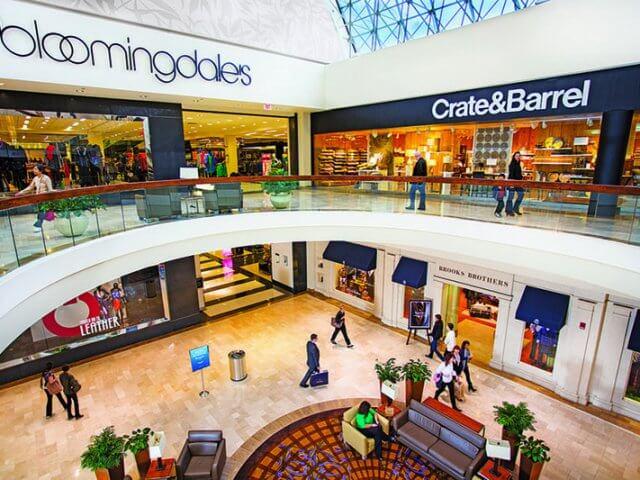 Shoppings em Boston