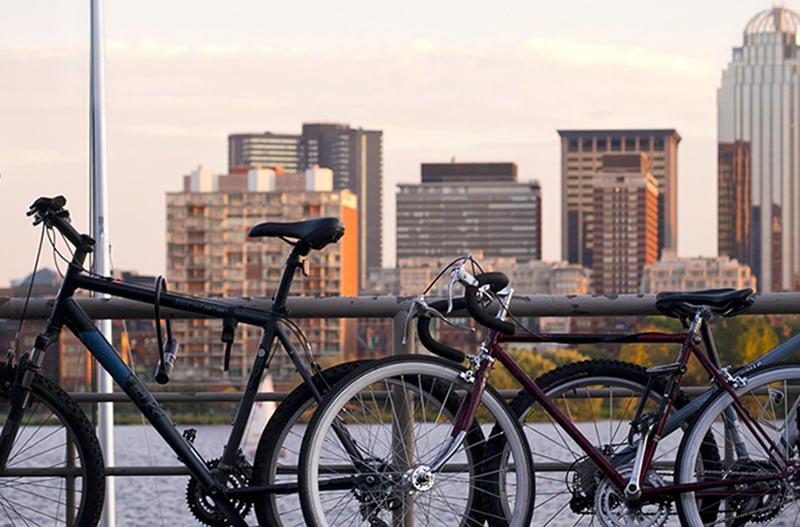 Bicicleta em Boston