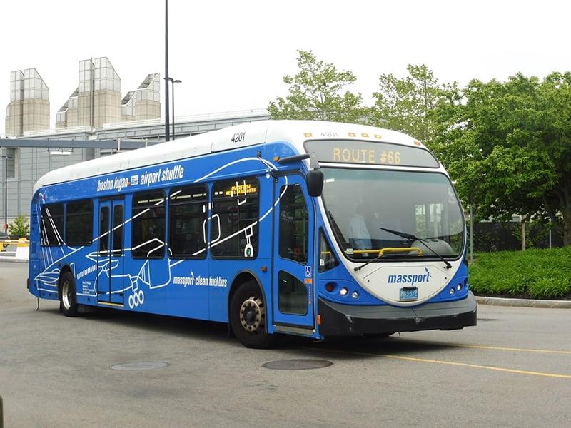Ônibus em Boston