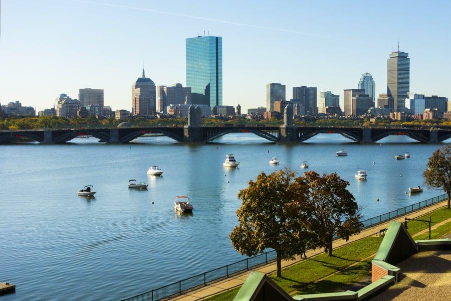 Como andar em Boston