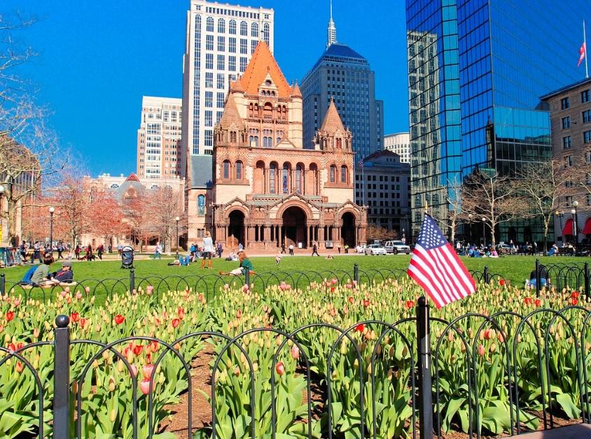 Copley Square em Boston